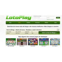 Script Php Clone Lotoplay De Jogos Online Cassino E Bingo