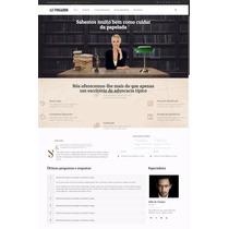 Site Advogado Em Wordpress Advocacia Escritório Empresa 2016