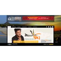 Portal De Radio Online - Webradio Administravel Com Player