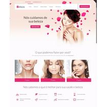 Site Para Salão De Beleza Ou Cabeleireiro | Tema Wp Mobile