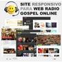 Site Para Webradio Gospel - Tema Wp Responsivo Com Player