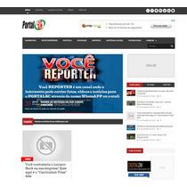 Site De Notícias - Portal De Notícias 2015 Script Php