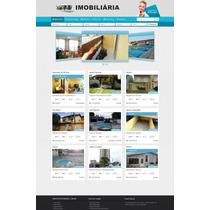 Script Php Site - Imobiliária,corretor, Chat, Mapas, Admin.