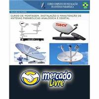 Curso Pofissional Instalador Antenas Parabólicas E Digital