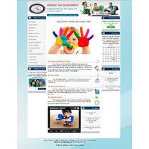 Site Para Faculdade/escola/curso Com Chat E Boletim Online