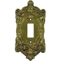 Espelho P/ 1 Interruptor Colonial Pexcel 1t - 10 Unidades