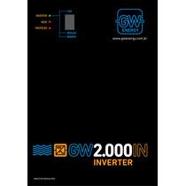 Inversor 2000w 12v 220v - Gw Energy - Náutica E Motorhome