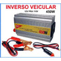 Inversor Veicular 12v Para 110v 450w