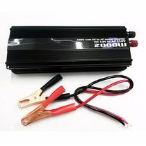 Inversor Transformador 2000w 12v P/ 110v Veicular Conversor