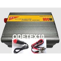 Inversor Transformador Conversor 800w Veicular 12v 110v Usb