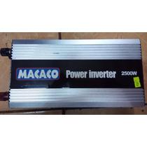 Inversor 5000wats Pico C/2500w Real Continuo 24v P/110