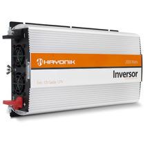 Inversor Conversor 2000w 12v 110 127 Carro Automotivo Usb