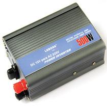 Inversor Voltagem Veicular 12v 220v 500w Transformador