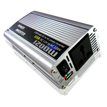 Transformador Conversor Inversor Corrente 12v - 220v 1200w