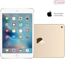 Tablet Apple Ipad Mini 4 Wi-fi 4g 128gb Dourado Câmera 8mp