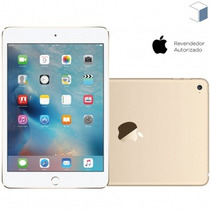 Tablet Ipad Mini 4 Apple Wi-fi 4g Memória 128gb Dourado