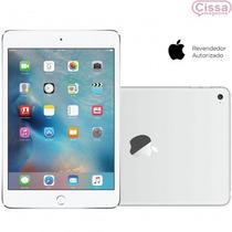 Tablet Ipad Mini 4 Apple Wi-fi 4g 64gb Ios 9 Prata Original