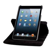 Capa Giratória Couro Sintético Apple Ipad Mini 1 2 3 Retina