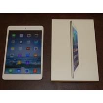 Ipad Mini Wi-fi Branco Igual Novo C/ Teclado E Case Original