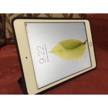Ipad Mini 3ª Geração 16gb - Tela Retina E Touchid - Dourado