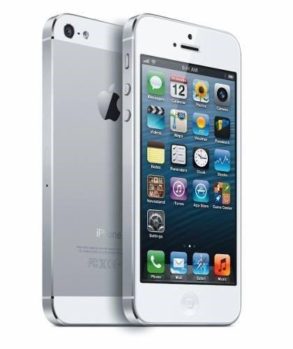Iphone 5 16gb Branco Completo C/ Acessórios - De Vitrine