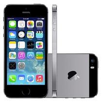 Iphone 5s Apple 16gb Preto Cor Prata Original, Nf E Garantia