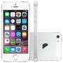 Iphone 5s 16gb Apple Prata-4g,câmera 8mp Flash+facetime 16gb