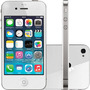Baixou! Apple Iphone 4 32gb Branco Completo - Vitrine