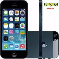 Iphone 5 16gb, Preto Anatel Semi Novo,sedex Gts+brindes+nf