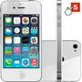 Iphone 4 16gb Branco Apple Ios6 Wi-fi 3g Desbloqueado - Rev.