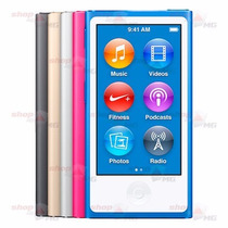 Ipod Nano 16gb Apple Original 16gb + Earphones, Frete Gratis