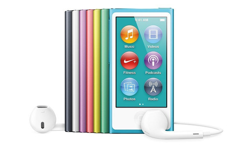 Ipod Nano 16gb Original Apple 7ª Geração -16 Gb Original