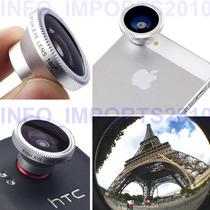 Lente Fisheye - Olho De Peixe P/ Iphone Ipod Touch Ipad Mini