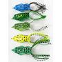 Isca Artificial Frog Sapo Silicone Anti Enrosco Bass Traira