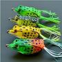 Sapo Frog Isca Artificial P/ Traíras Bass Tucunarés 4 Sapos