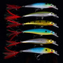 Kit 6 Iscas Artificiais Importadas Similar Rapala X Rap