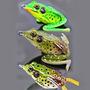 Isca Artificial Sapo Frog Anti Enrosco Traíras Bass Tucunaré
