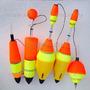 Kit 5 Bóias Especiais Pesqueiro Diversos Modelos Tamanhos