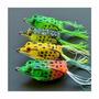 4 Isca Artificial Sapo Frog Produto De 1° Linha