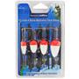 Kit Com 4 Bóias Montadas Para Pesca