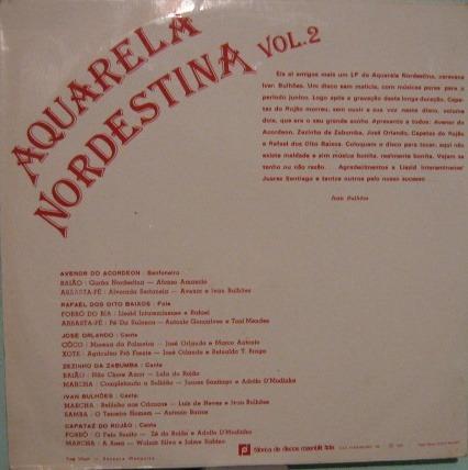 Ivan Bulhões - Aquarela Nordestina Volume 2 - 1981