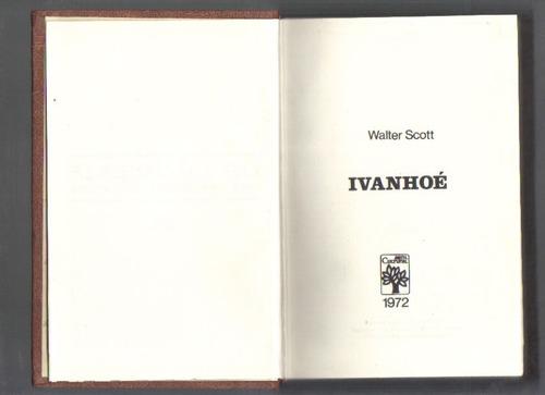 Ivanhoé - Walter Scott - Frete Grátis!