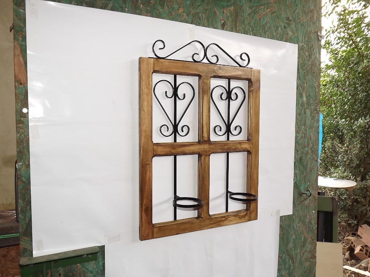 #69492E Janela Floreira Jardim Vertical Com Detalhes Em Ferro R$ 95 00 no  566 Janelas Em Arco De Ferro