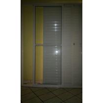 Porta Balcão Alum Branco 3 Folhas 2100x1500 S/ Fechadura