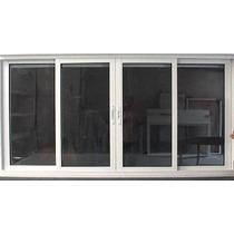 Janela 4f Linha 25 Suprema 1,50x1,10m Com Vidro- Janelafacil