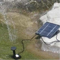 Kit Fonte Piscina Jardim Movido A Energia Solar - No Brasil