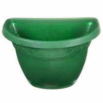 20 Vasos De Parede G Verde P/ Jd Vertical, Horta Suspensa
