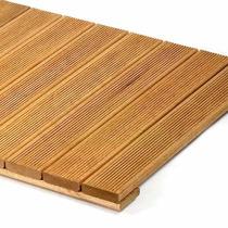 Oferta Deck Modular Madeira Lamela De 7cm - Na Cor Imbuia