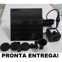 Painel Solar Com Bomba Dagua Para Fontes Jardins