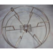 Enrolador Mangueira Parede Ar Aluminio Giratorio Suporte